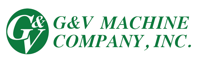 G&V Machine Company, Inc. logo.